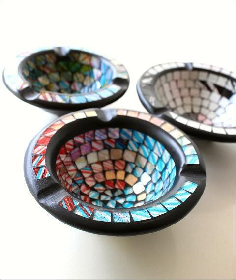 モザイク灰皿B 3カラー(2)