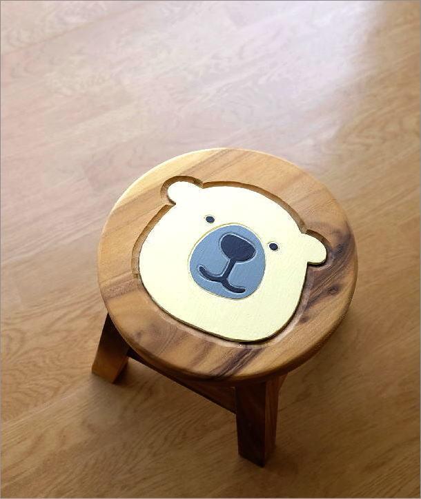 子供椅子 白くまくん(1)
