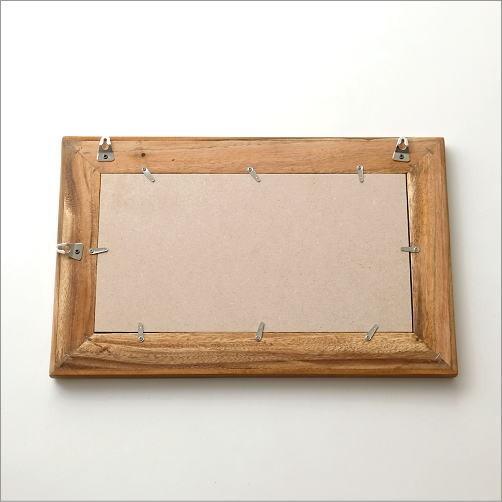 壁掛け組み木ミラー M(3)