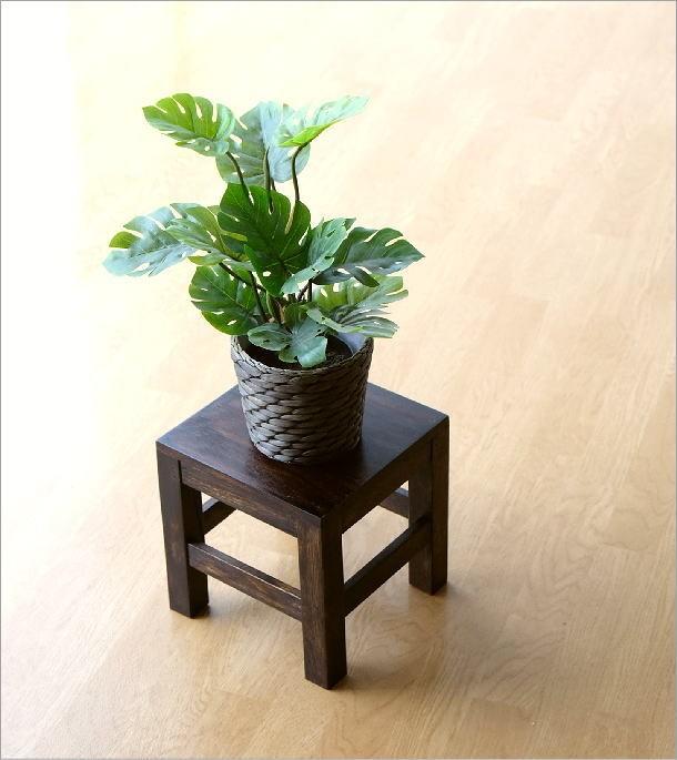 木 スツール(2)