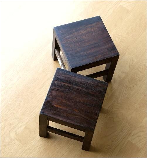 木製 花台(4)