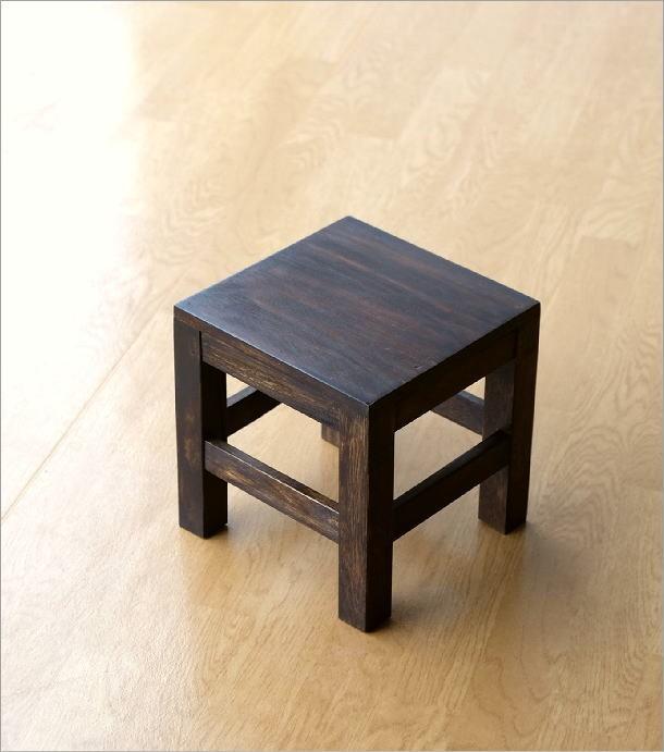 木製スツール(5)