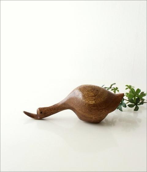 木彫りのアヒル B(4)