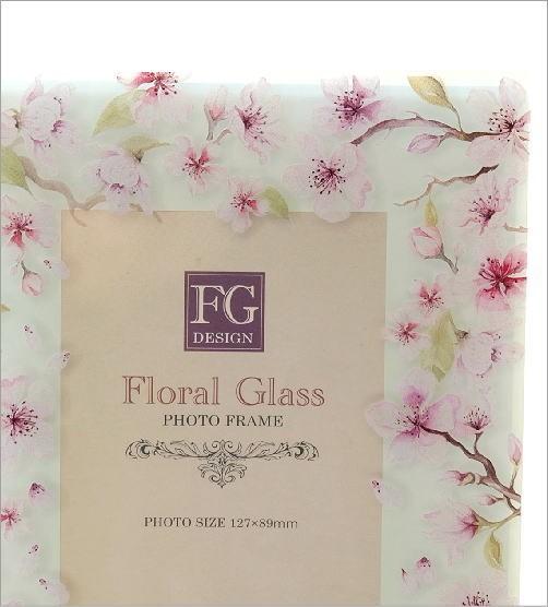 ガラスのフォトフレーム さくら(2)