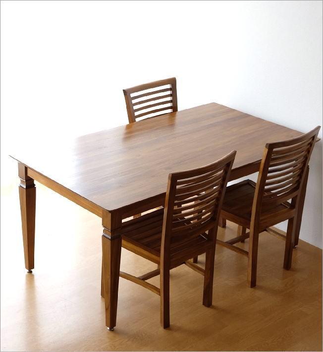 チークダイニングテーブル160(2)