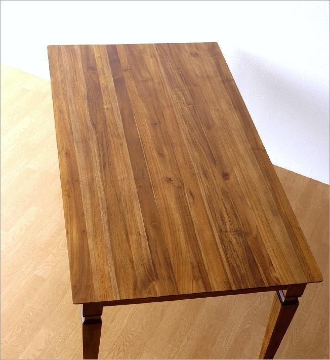 チークダイニングテーブル160(3)