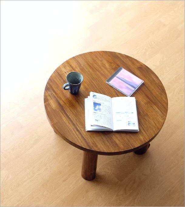 チークラウンドテーブル60(1)