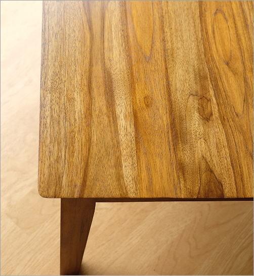 アジアン家具 テーブル チークコンパクトテーブル60(3)