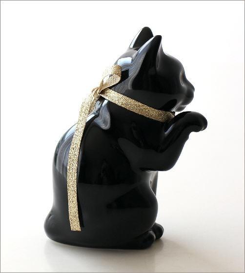 へそくりの招きネコ ブラック(2)