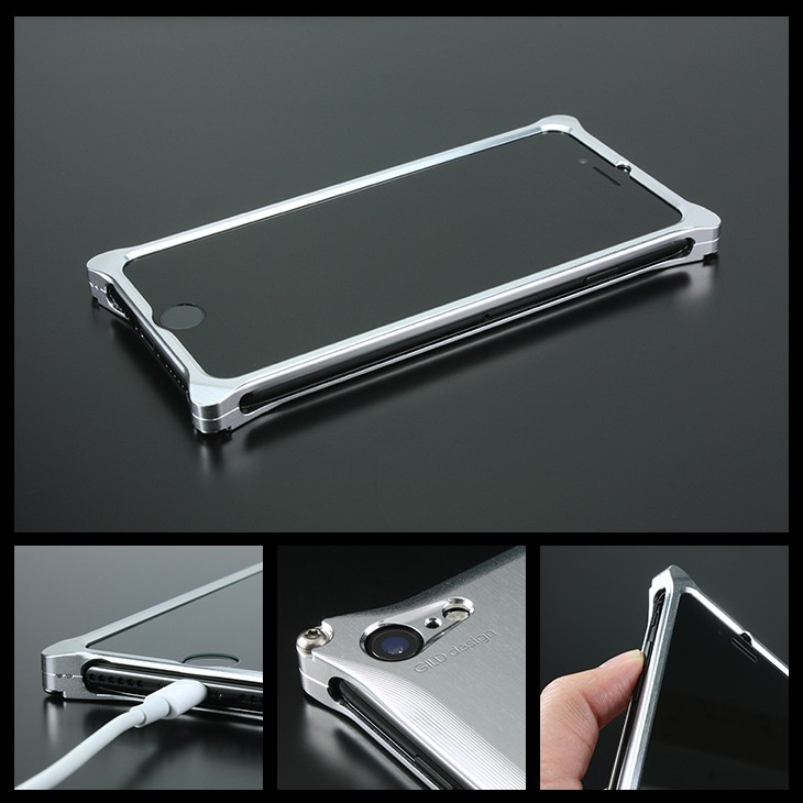 ギルドデザイン ソリッド for iPhone 8/7 シルバー GI-400S 42421の商品画像 2