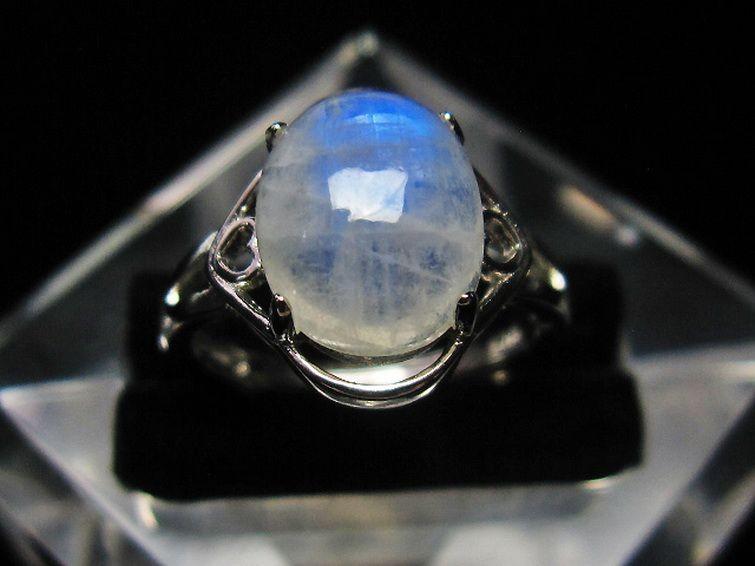 ムーンストーン指輪 T135-5820