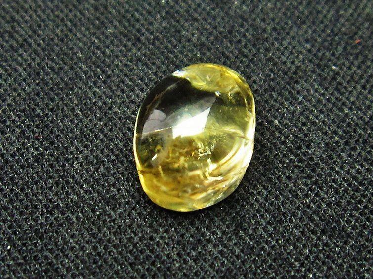シトリン水晶ルース T358-1534