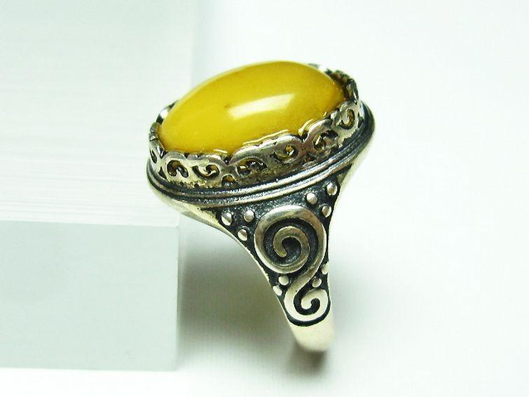 アンバー 琥珀指輪 T746-2682