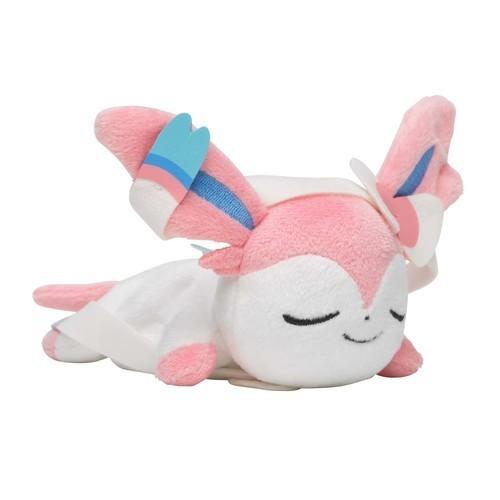 ポケモンセンターオリジナル くったりぬいぐるみ おやすみver (ニンフィア)の商品画像 ナビ