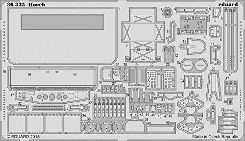 エデュアルド ホルヒ エッチングパーツセット ICM用(1/35スケール エッチングパーツ EDU36325)の商品画像|ナビ