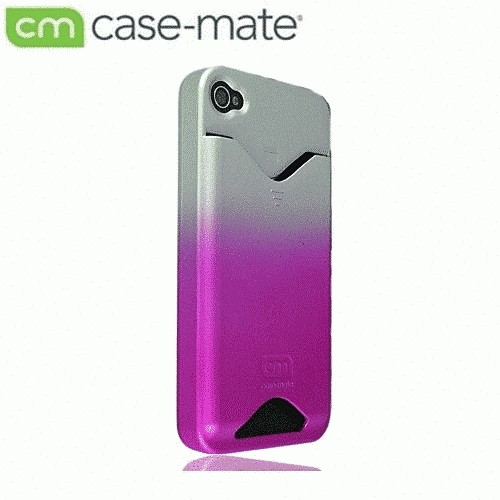 CASE MATE iPhone 4S/4 ID Case Matte Royal Pink CM012228の商品画像|2
