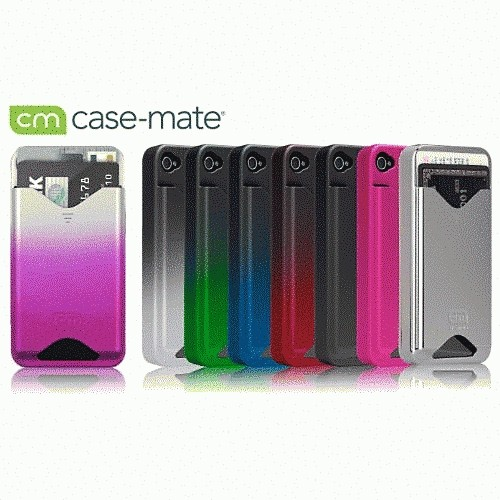 CASE MATE iPhone 4S/4 ID Case Matte Royal Pink CM012228の商品画像|4