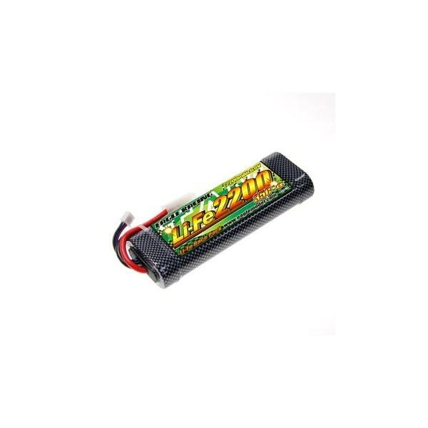 イーグル模型 バッテリー Li-Fe EA2200 35C+α・ハードショットガンチューブ仕様 3371V2Uの商品画像|ナビ