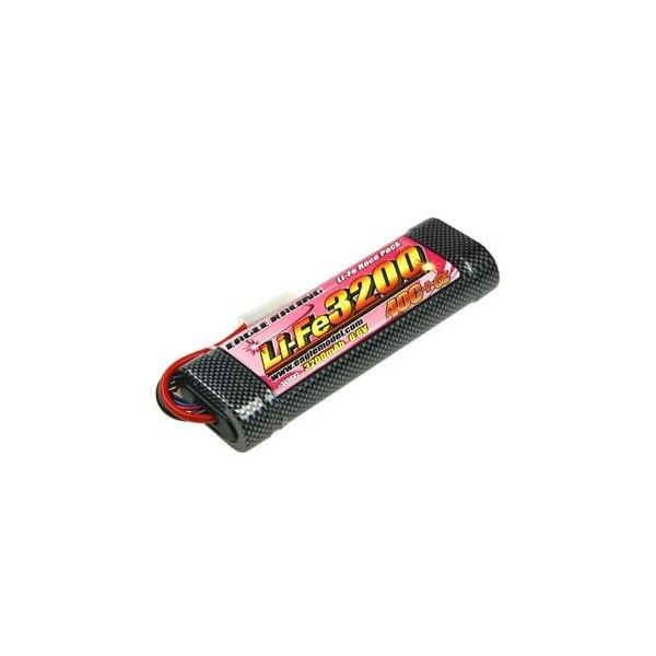 イーグル模型 バッテリー Li-Feバッテリー EA3200/6.6V 40C+α・ハードショットガンチューブ仕様 3696V2の商品画像 ナビ
