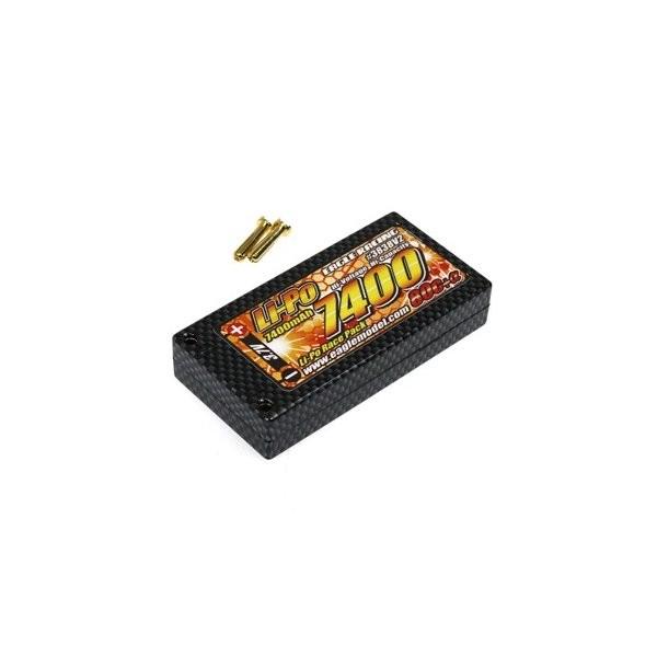 イーグル模型 バッテリー Li-Poバッテリー EA7400R/3.7V 80C+α ハードケース仕様 3838V2の商品画像|ナビ