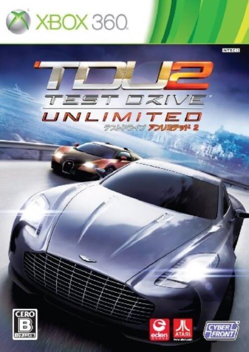【Xbox360】 テスト ドライブ アンリミテッド2の商品画像 ナビ