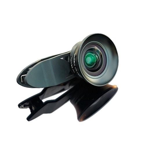 YASHICA スマホ用カメラレンズ スリーイー YASHICA LENS (ブラック)の商品画像|ナビ
