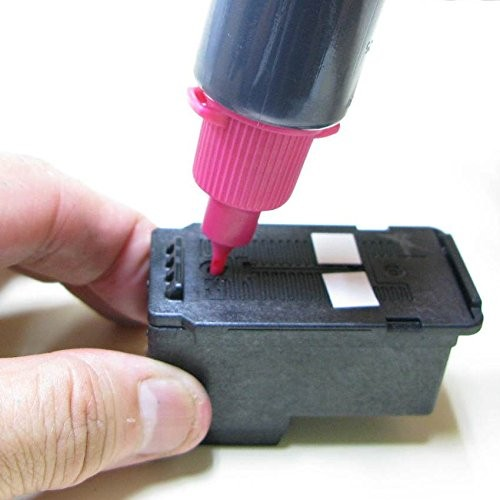 詰め替えインク ZCC340BCL(4色セット、ツール付)の商品画像 2