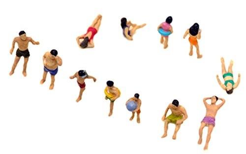 トミーテック 情景コレクション ザ・人間 海水浴の人々 118の商品画像|2