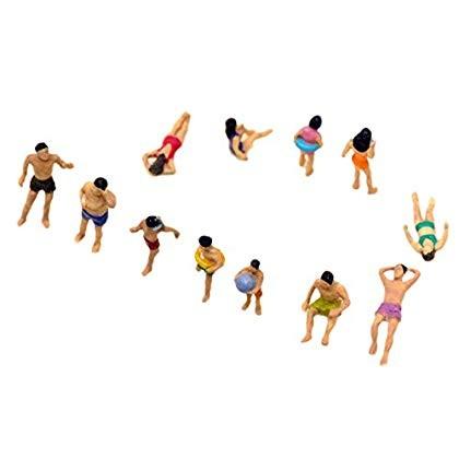 トミーテック 情景コレクション ザ・人間 海水浴の人々 118の商品画像|3