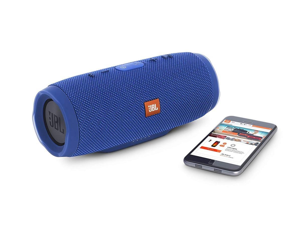 Bluetoothスピーカー CHARGE3 JBLCHARGE3BLUEJN (ブルー)の商品画像 4