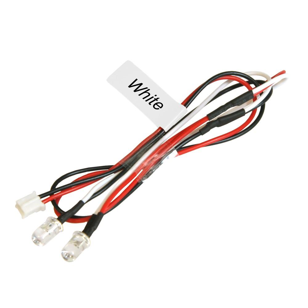 イーグル模型 5mmエディショナルLEDライトセット(2灯)-ホワイト NLD05LP-WIの商品画像|ナビ