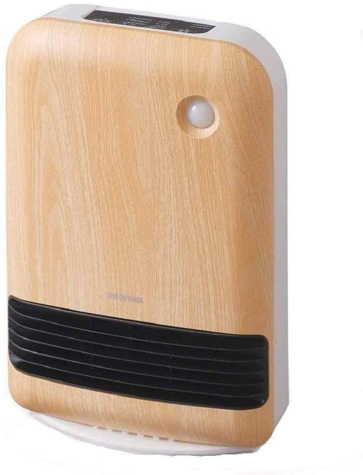 人感センサー付き大風量セラミックファンヒーター 木目調 JCH-12TD4-NTM (薄木目)の商品画像|ナビ