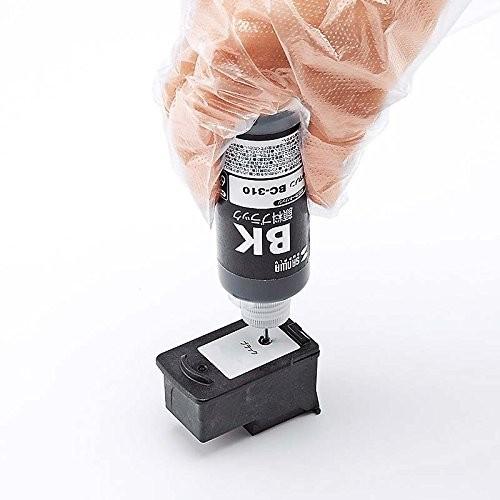 サンワサプライ 詰め替えインク INK-C310B60S(顔料ブラック・60ml)の商品画像|4