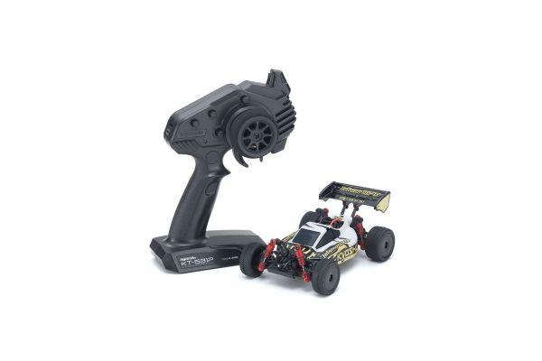 京商 1/24RC ミニッツバギー レディセット インファーノ MP9 ホワイト/ブラック 32091WBKの商品画像|ナビ