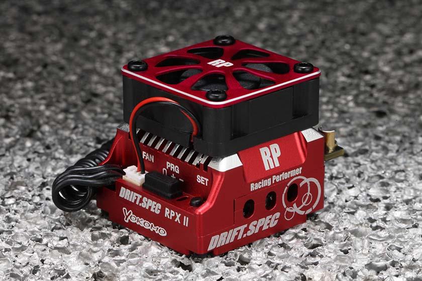 ヨコモ ESC レーシングパフォーマー RPX-II ドリフトスペック スピードコントローラー(レッドバージョン) BL-RPX2DRの商品画像 ナビ