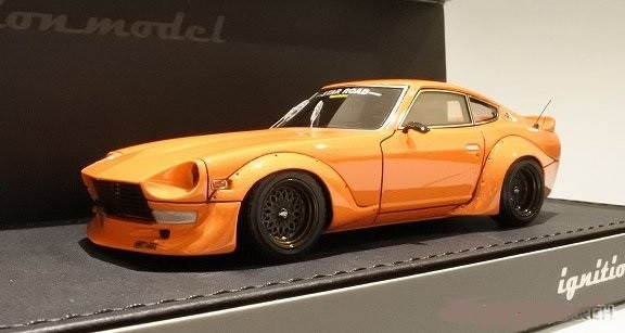Nissan Fairlady Z (S30) STAR ROAD Orange (1/43スケール IG1421)の商品画像|ナビ