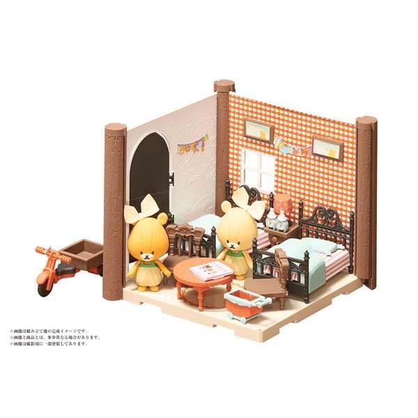バンダイ HACO ROOM くまのがっこう ふたごのこども部屋キットの商品画像 ナビ