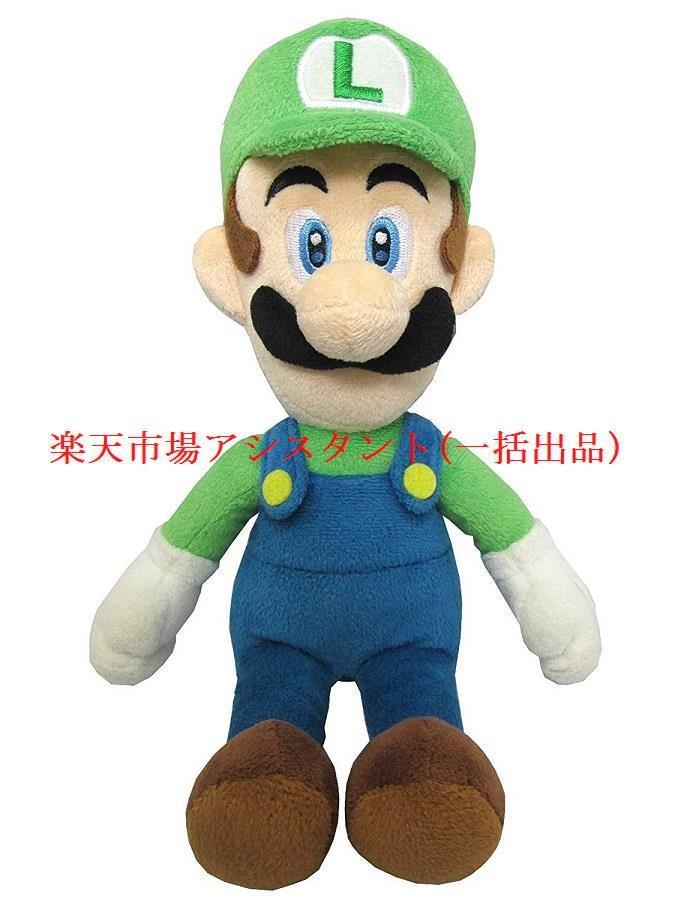 スーパーマリオ オールスターコレクション ぬいぐるみ S (ルイージ) AC02の商品画像 ナビ