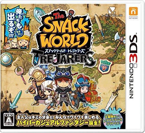 【3DS】レベルファイブ スナックワールド トレジャラーズの商品画像 ナビ