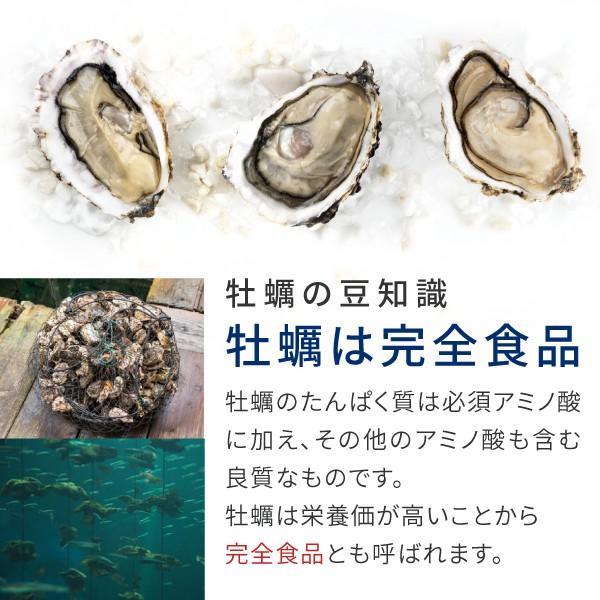 牡蠣は完全食品