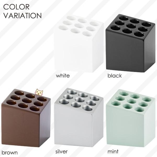 デザイン傘立てCUBE キューブ カラー