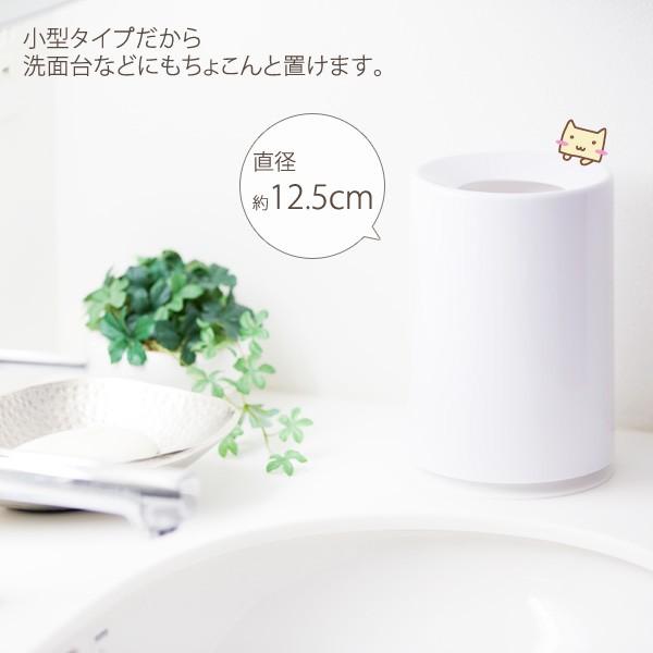 小型タイプだから洗面台にもおけます