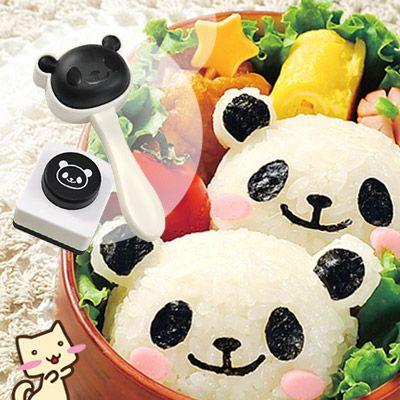 パンダおにぎりセット パンダのおにぎりが作れるキット キャラ弁 おにぎり 【アーネスト】