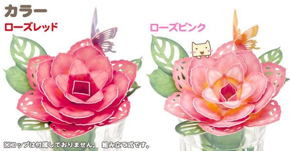 カラーは2種類 ローズレッドとローズピンク