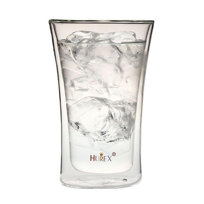 ヒューレックス 耐熱ダブルウォール ビアグラス 400ml HU-M6153の商品画像|ナビ