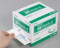 滅菌Yカットガーゼ (ガーゼタイプ)SD3012-1 (滅菌済み、1枚/袋×50袋入り、7.5cm×7.5cm:12ply)の商品画像|2