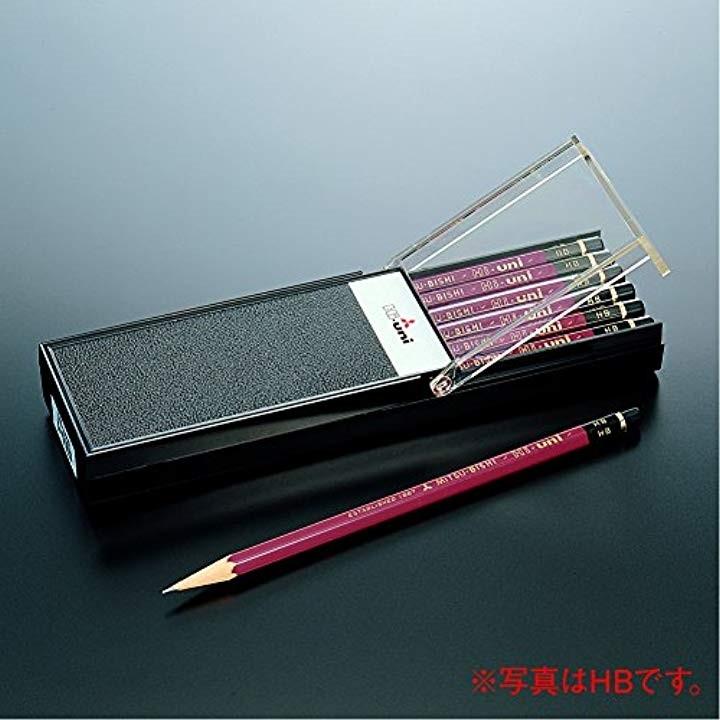 三菱鉛筆 ハイユニ 1ダース 6角軸(6H) HU6Hの商品画像 2