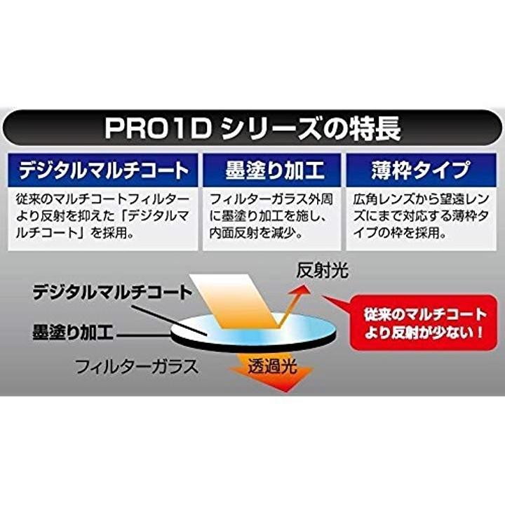 ケンコー プロ1D 49S PRO1D プロテクター(W)シルバー枠 49mmの商品画像|4