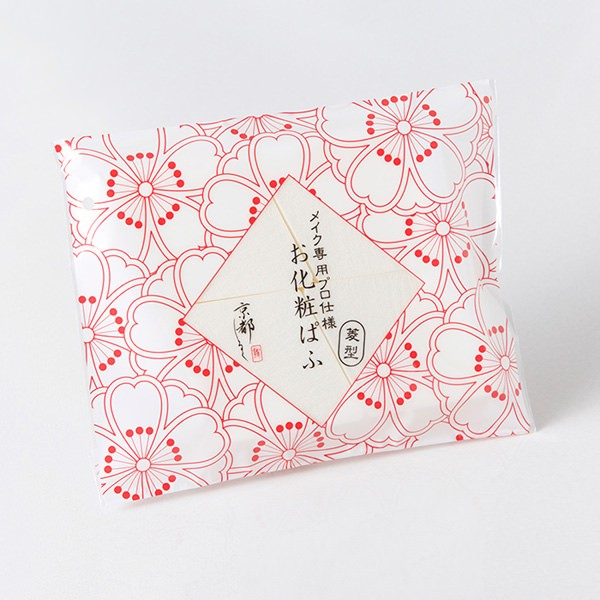 ハウスオブローゼ お化粧ぱふ 菱型の商品画像|2
