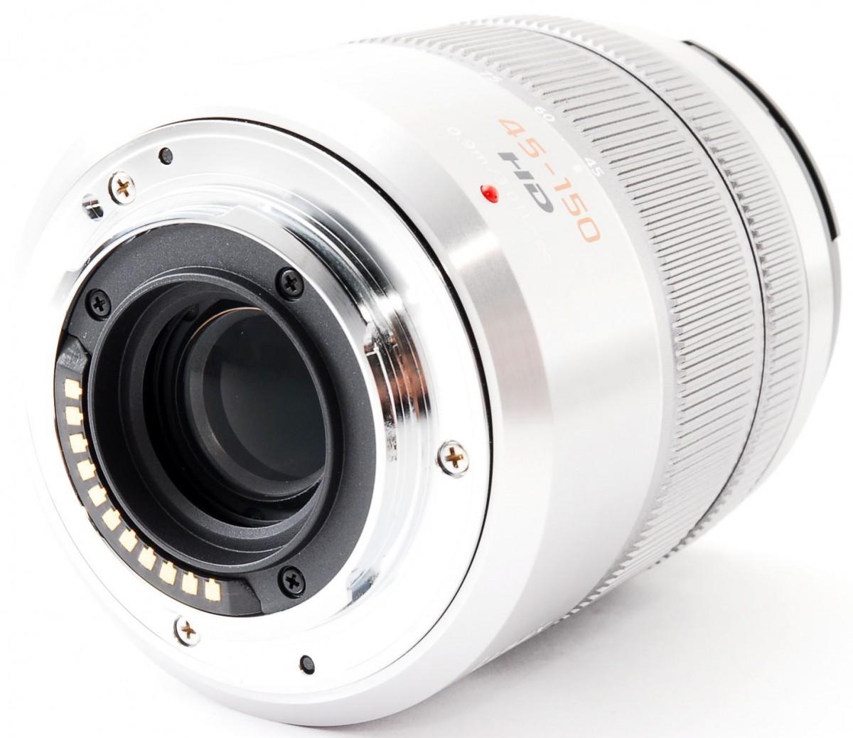 パナソニック ルミックスG LUMIX G VARIO 45-150mm F4-5.6 ASPH. MEGA O.I.S. H-FS45150-S(シルバー)の商品画像|4